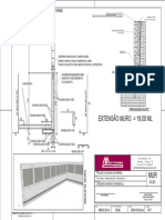 Projeto Muro de Arrimo - Lindaura