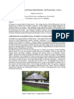 Romanian Architectural Wooden Cultural Heritage – The