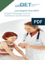Candidate Leaflet for OET