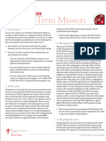 LCMS Best Practices Short Term Mission v4