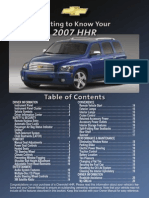 Getting to Know Your 2007 Chevrolet HHR