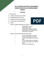 1.0 Desarrollo Del Informe Final