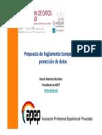 Propuesta Reglamento Ue Proteccion Datos