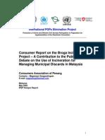 Malaysia Broga Incinerator Project