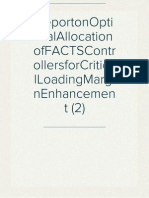 ReportonOptimalAllocationofFACTSControllersforCriticalLoadingMarginEnhancement (2)