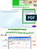 Descripcion de Barras Excel