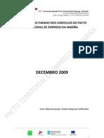 Perfil tipo do parado Decembro 2009 concellos