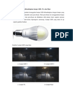 Pengujian Rangkaian LED