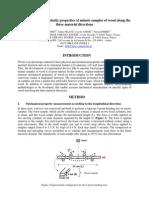 Measurement of the Elastic Properties of Minute