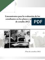 Lineamientos para la evaluación plan y programa 2012.pdf