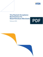 Visa Best Practice Guide for Petroleum Industry