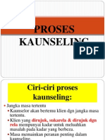 PROSES KAUNSELING