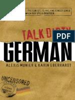 Talk Dirty German