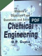 Gupta Chemical Engineering Mcqs