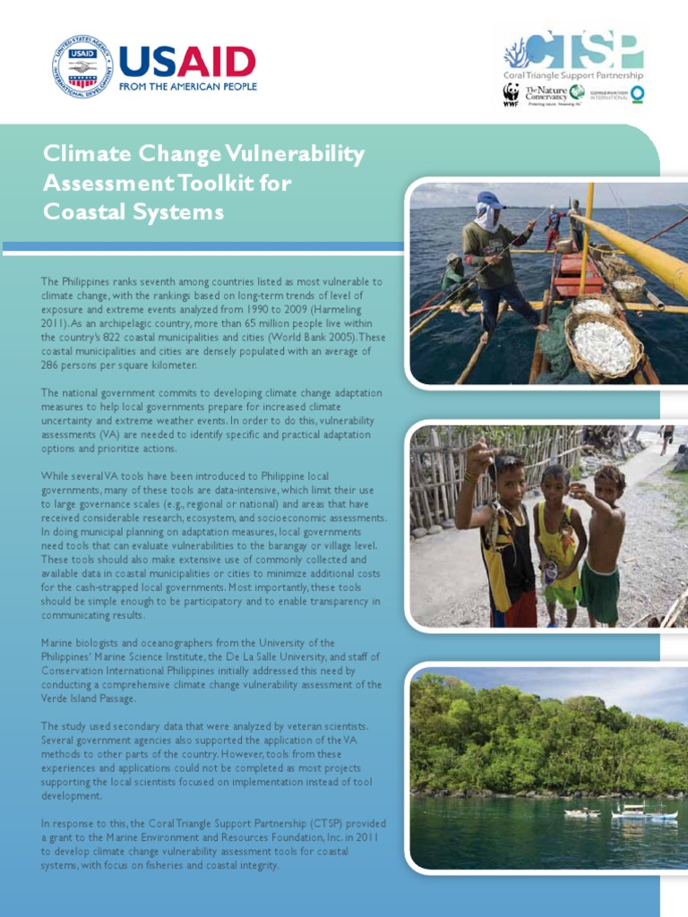 7_Climate Change Vulnerability Assessment Toolkit for