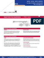 TEX RT335 Especificaciones