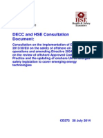 CD272DECC and HSE Consultation Document