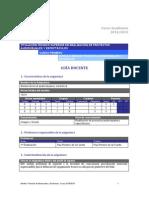 Curso Académico 2014-2015 Medios Técnicos