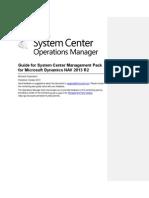 Management Pack Guide for Microsoft Dynamics NAV 2013 R2