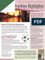 Hopkins Highlights - January 2015