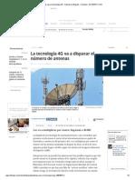 Antenas Para La Tecnología 4G