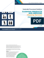 Cleaning Services Product Sheet