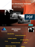 Cargo Insurance Basics and Myths