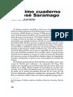 El Ultimo Cuaderno de Jose Saramago