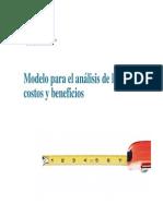 Modelo Para El Analisis de Costos y Beneficios