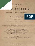 Manual de Agricultura Pt Clasele Primare 1869