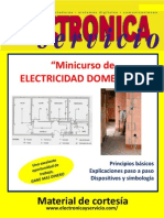Electronica y Servicio N°104-Minicurso de electricidad domestica