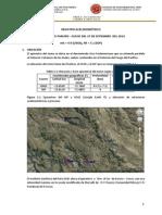 Sismo 270914 en costas  Chile