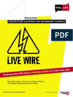 KS3 and 4 - Live Wire - Lesson Plan Activities - Electricity and the Railway