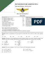 2014-07-09 - Simulado de Matemática -