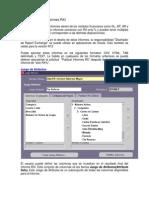 Configuración de Informes RXI