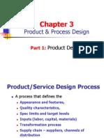 Ch3 Product and Process Desgin - Part 1