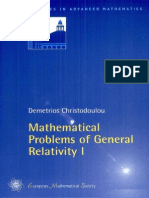Mathematical Problems of General Relativity - D. Christodoulou.pdf