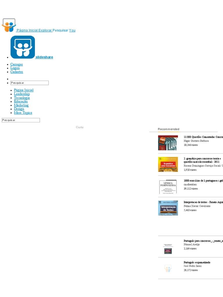 5ec9999403 900 Questões Gramática Aplicada Para Concursos - Décio Sena