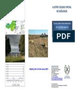 Curso sobre herramientas de uso libre para la cuantificación del ciclo hidrológico