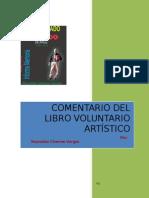 Comentario al Libro Voluntariado Artístico