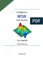 Sayısal Analiz (MATLAB) - Cüneyt Aydın Ders Notları