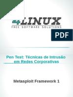 Slides - Metasploit Framework Parte I