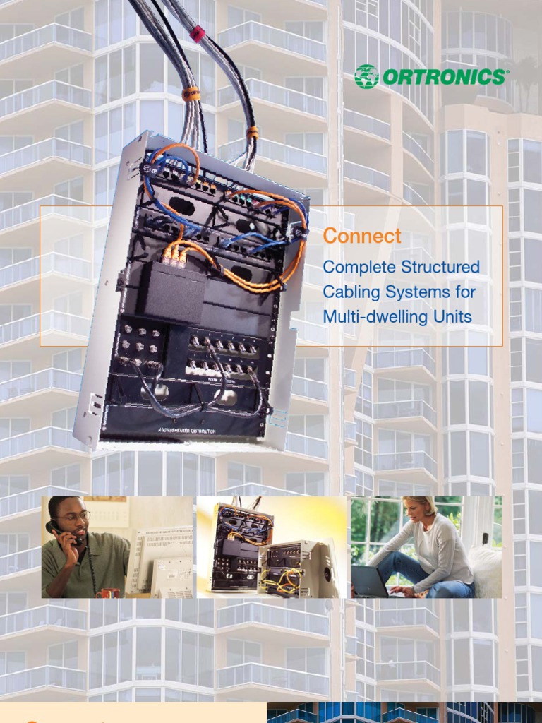 Complete Structured Cabling Systems For Multi Dwelling Units Cable What Is A Wiring System Television Coaxial