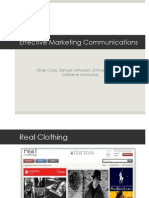 effective marketing communications presentation