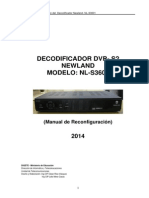Manual de Reconfiguracion Del Receptor de Video Dvb