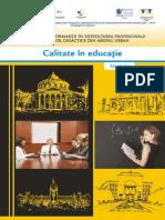 Modul 6 Calitate in Educatie
