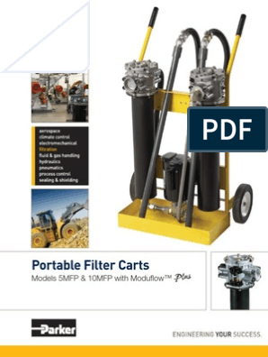 Portable Filter Carts: Models 5MFP & 10MFP with Modufl ow™