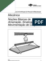 Mecânica - Noções Básicas de Amarração, Sinalização e Movimentação de Cargas (SENAI/CST)