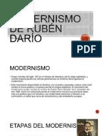 El Modernismo de Rubén Darío