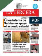 Diario La Tercera 8 1 2015